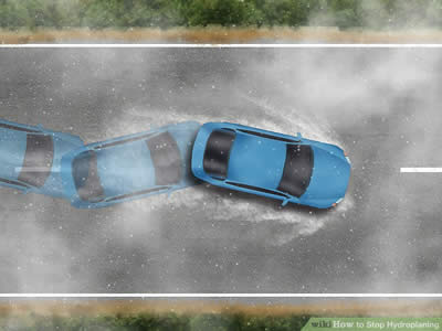 Stop Hydroplaning